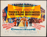 "There's No Business Like Show Business (20th Century Fox, 1954). Half Sheet (22"" X 28""). Musical"