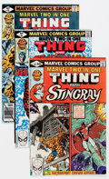 Modern Age (1980-Present):Superhero, Marvel Two-In-One Giant Short Boxes Group (Marvel, 1979-83)Condition: Average NM-.... (Total: 5 Items)