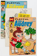 Silver Age (1956-1969):Humor, Playful Little Audrey File Copies Box Lot (Harvey, 1958-76) Condition: Average VF/NM....