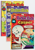 Bronze Age (1970-1979):Cartoon Character, Richie Rich and Casper/Richie Rich and Jack Jokers File Copies BoxLot (Harvey, 1970s) Condition: Average VF/NM....