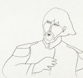 Animation Art:Production Drawing, Yellow Submarine George Production Drawing (UnitedArtists/King Features, 1968)....