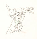 Animation Art:Production Drawing, Pinocchio Lampwick Animation Drawing (Walt Disney, 1940)....