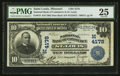 National Bank Notes:Missouri, Saint Louis, MO - $10 1902 Date Back Fr. 619 The NB of Commerce Ch. # (M)4178. ...