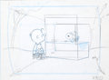 Animation Art:Production Drawing, A Charlie Brown Valentine Production Drawing Group (BillMelendez Studios, 2002)....