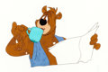 Animation Art:Production Cel, Barney Bear Production Cel (MGM, 1950s)....