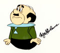 Animation Art:Production Cel, The Jetsons Mr. Spacely Production Cel signed by Mel Blanc(Hanna-Barbera, 1984)....