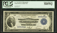 Fr. 734 $1 1918 Federal Reserve Bank Note PCGS Choice About New 58PPQ
