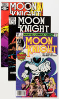 Modern Age (1980-Present):Superhero, Moon Knight Giant Short Boxes Group (Marvel, 1980-84) Condition:Average NM.... (Total: 4 Box Lots)
