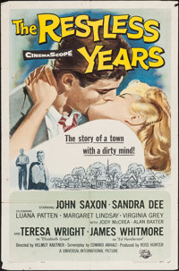 "The Restless Years & Other Lot (Universal International, 1958). One Sheets (2) (27"" X 41""). Drama..."