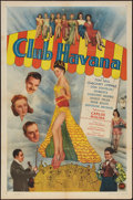 "Movie Posters:Mystery, Club Havana (PRC, 1945). One Sheet (27"" X 41""). Mystery.. ..."