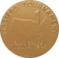 Golf Collectibles:Miscellaneous, 1952 Masters Championship Gold Medal Won by Sam Snead....