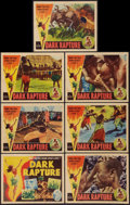 "Movie Posters:Documentary, Dark Rapture (Universal, 1938). Title Lobby Card & Lobby Cards (6) (11"" X 14""). Documentary.. ... (Total: 7 Items)"
