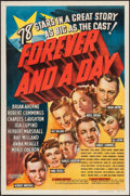 """Movie Posters:Drama, Forever and a Day (RKO, 1943). One Sheet (27"""" X 41""""). Drama.. ..."""