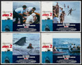 """Movie Posters:Horror, Jaws 2 (Universal, 1978). Lobby Card Set of 4 (11"""" X 14""""). Horror.. ... (Total: 4 Items)"""