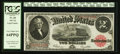 Large Size:Legal Tender Notes, Fr. 60 $2 1917 Legal Tender PCGS Very Choice New 64PPQ.. ...