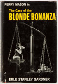 Books:Mystery & Detective Fiction, Erle Stanley Gardner. INSCRIBED. The Case of the Blonde Bonanza. William Morrow and Company, 1962. First edition...