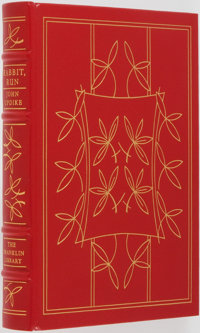 John Updike. SIGNED LIMITED EDITION. Rabbit, Run. The Franklin Library, 1977. Signed