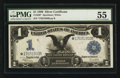 Fr. 236* $1 1899 Silver Certificate PMG About Uncirculated 55