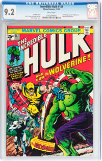 The Incredible Hulk #181 (Marvel, 1974) CGC NM- 9.2 White pages