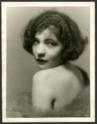 """Renee Adoree by Clarence Sinclair Bull (MGM, 1929). Portrait Photo (10.5"""" X 13.5""""). Miscellaneous"""