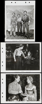 "Shane (Paramount, 1953). Keybook Photos (3) (8"" X 11""). Western. ... (Total: 3 Items)"
