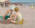Fine Art - Painting, American:Other , EDWARD HENRY POTTHAST (American, 1857-1927). A SummerVacation. Oil on canvas. 16 x 20 inches (40.6 x 50.8 cm).Signed l...