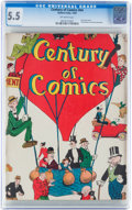 Platinum Age (1897-1937):Miscellaneous, Century of Comics #nn (Eastern Color, 1933) CGC FN- 5.5 Off-white pages....