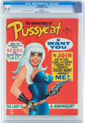 Magazines:Miscellaneous, Pussycat #1 (Marvel, 1968) CGC VF/NM 9.0 White pages....