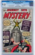 Silver Age (1956-1969):Superhero, Journey Into Mystery #85 Don/Maggie Thompson Collection pedigree(Marvel, 1962) CGC VF/NM 9.0 White pages....