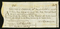 Colonial Notes:Massachusetts, Continental Loan Office Bill of Exchange Second Bill $36/180 LivresOctober 20, 1778 Anderson US-98/MA-5A Very Fine....