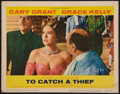 """Movie Posters:Hitchcock, To Catch a Thief (Paramount, 1955). Lobby Card (11"""" X 14"""").Hitchcock.. ..."""