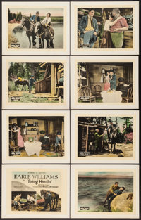 "Bring Him In (Vitagraph, 1921). Lobby Card Set of 8 (11"" X 14""). Action. ... (Total: 8 Items)"