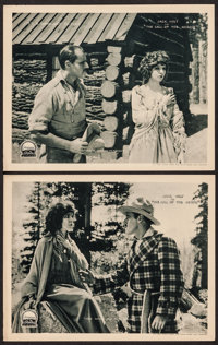"""The Call of the North (Paramount, 1921). Lobby Cards (2) (11"""" X 14""""). Drama. ... (Total: 2 Items)"""