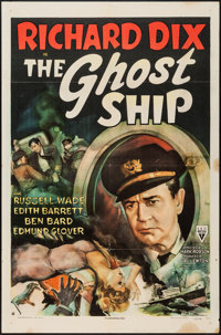 "The Ghost Ship (RKO, 1943). One Sheet (27"" X 41""). Horror"