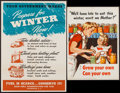 "Movie Posters:War, World War II Propaganda & Other Lot (U.S. Government PrintingOffice, 1943). Posters (2) (16"" X 22.5"", & 20"" X ) OWI Poster... (Total: 2 Items)"