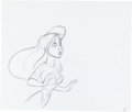 Animation Art:Production Drawing, The Little Mermaid Ariel Production Drawing Sequence (WaltDisney, 1989).... (Total: 3 Items)