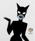Animation Art:Production Cel, The New Batman/Superman Adventures Catwoman Production Cel(Warner Brothers, 1997)....