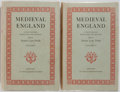 Books:World History, Austin Lane Poole, editor. Medieval England. The Clarendon Press, 1958. First edition. In two volumes. Publisher... (Total: 2 Items)