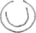 Estate Jewelry:Suites, Diamond, White Gold Jewelry Suite. ... (Total: 2 Items)