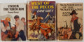 Books:Fiction, [Westerns]. Group of Three (3) Zane Grey Books. Harper &Brothers, 1923-1937. First editions. Publisher's original bindings... (Total: 3 Items)