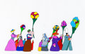 Animation Art:Production Cel, Beatles Yellow Submarine Pepperland Residents Production Cel and Animation Drawing (United Artists/King Features, ... (Total: 2 Items)