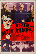 "Movie Posters:War, After Mein Kampf? (Crystal Pictures, 1940). One Sheet (27"" X 41"").War.. ..."