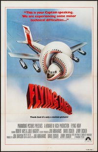 "Airplane! (Paramount, 1980). International One Sheet (27"" X 41""). Comedy. Alternate Title: Flying High!"