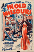 "Movie Posters:Adventure, In Old Missouri (Republic, 1940). One Sheet (27"" X 41"").Adventure.. ..."