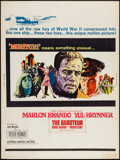 """Movie Posters:War, Morituri (20th Century Fox, 1965). Double-Sided Poster (30"""" X 40"""").War.. ..."""