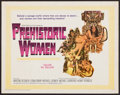 "Movie Posters:Adventure, Prehistoric Women (20th Century Fox, 1966). Half Sheet (22"" X 28"").Adventure.. ..."