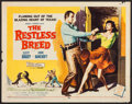 """Movie Posters:Western, The Restless Breed (20th Century Fox, 1957). Half Sheet (22"""" X 28"""") Style A. Western.. ..."""