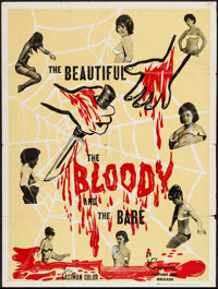 """The Beautiful, the Bloody and the Bare (Esquire, 1964). Poster (30"""" X 40""""). Horror"""
