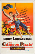 """Movie Posters:Adventure, The Crimson Pirate (Warner Brothers, 1952). One Sheet (27"""" X 41""""). Adventure.. ..."""