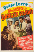 """Movie Posters:Mystery, Mr. Moto in Danger Island (20th Century Fox, 1939). One Sheet (27""""X 41""""). Mystery.. ..."""